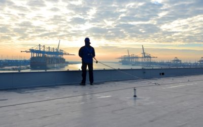 Weather Risks When Working at Height in Construction & Maintenance